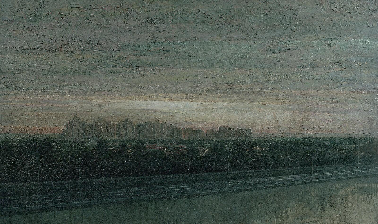 图20 袁元,《新城》,110x160cm,2000.jpg