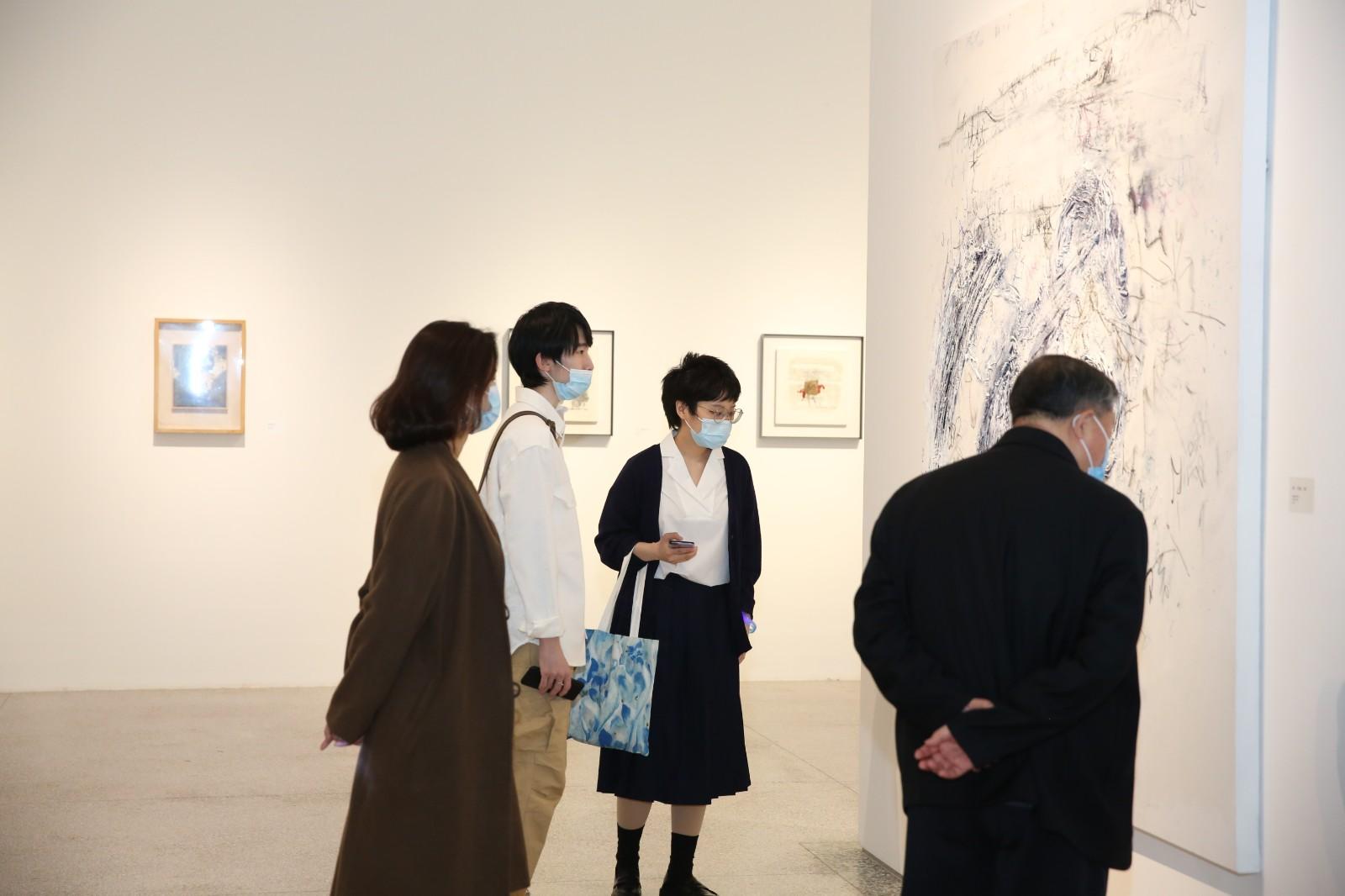 """图13、""""从零到引力波""""王铁华个展ZERO零艺术中心展览现场.JPG"""